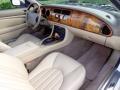 2000 Jaguar XK Cashmere Interior Dashboard Photo