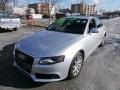 Ice Silver Metallic 2010 Audi A4 2.0T quattro Sedan