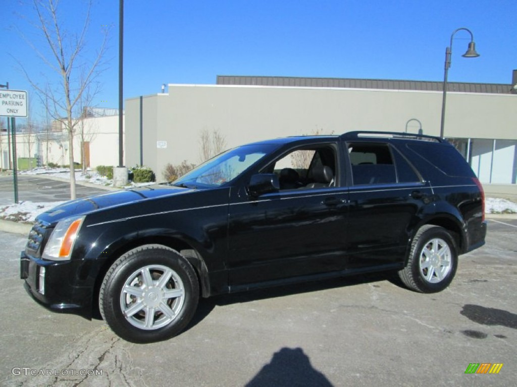 Black Raven 2004 Cadillac Srx V6 Awd Exterior Photo