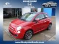 Rosso (Red) 2012 Fiat 500 Sport
