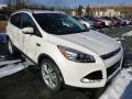 2014 White Platinum Ford Escape Titanium 2.0L EcoBoost 4WD  photo #1