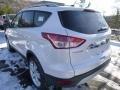 2014 White Platinum Ford Escape Titanium 2.0L EcoBoost 4WD  photo #4