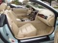 2007 Jaguar XK Ivory/Slate Interior Front Seat Photo