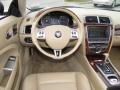 2007 Jaguar XK Ivory/Slate Interior Dashboard Photo