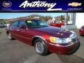 Autumn Red Metallic 2000 Lincoln Town Car Cartier