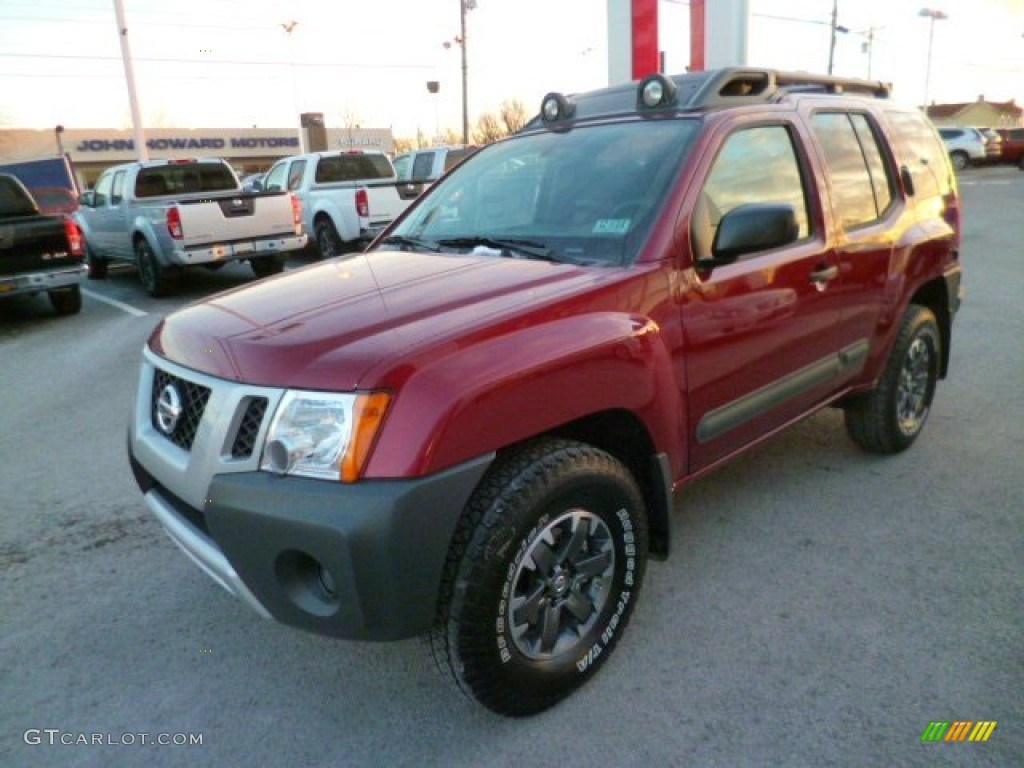 cayenne red 2014 nissan xterra pro 4x 4x4 exterior photo 88848496. Black Bedroom Furniture Sets. Home Design Ideas
