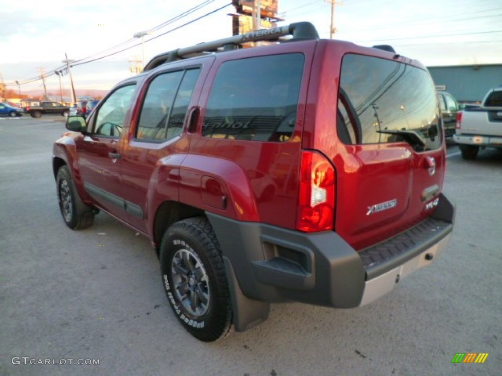 cayenne red 2014 nissan xterra pro 4x 4x4 exterior photo 88848523. Black Bedroom Furniture Sets. Home Design Ideas
