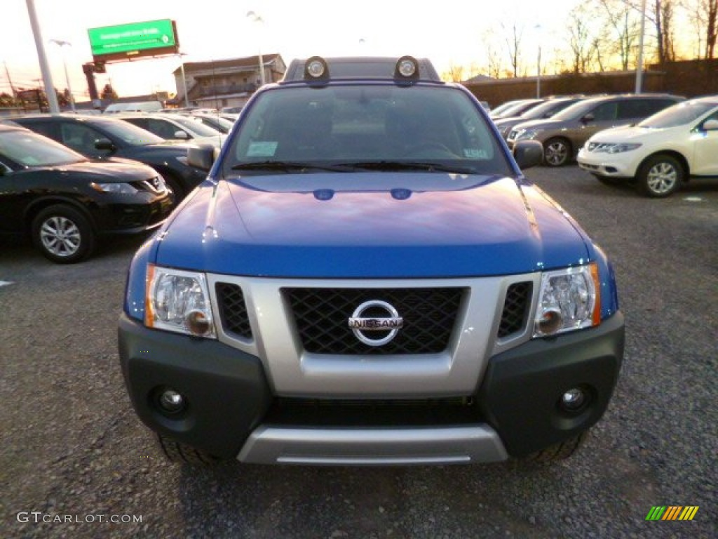 2014 metallic blue nissan xterra pro 4x 4x4 88818539 photo 2 car color galleries. Black Bedroom Furniture Sets. Home Design Ideas