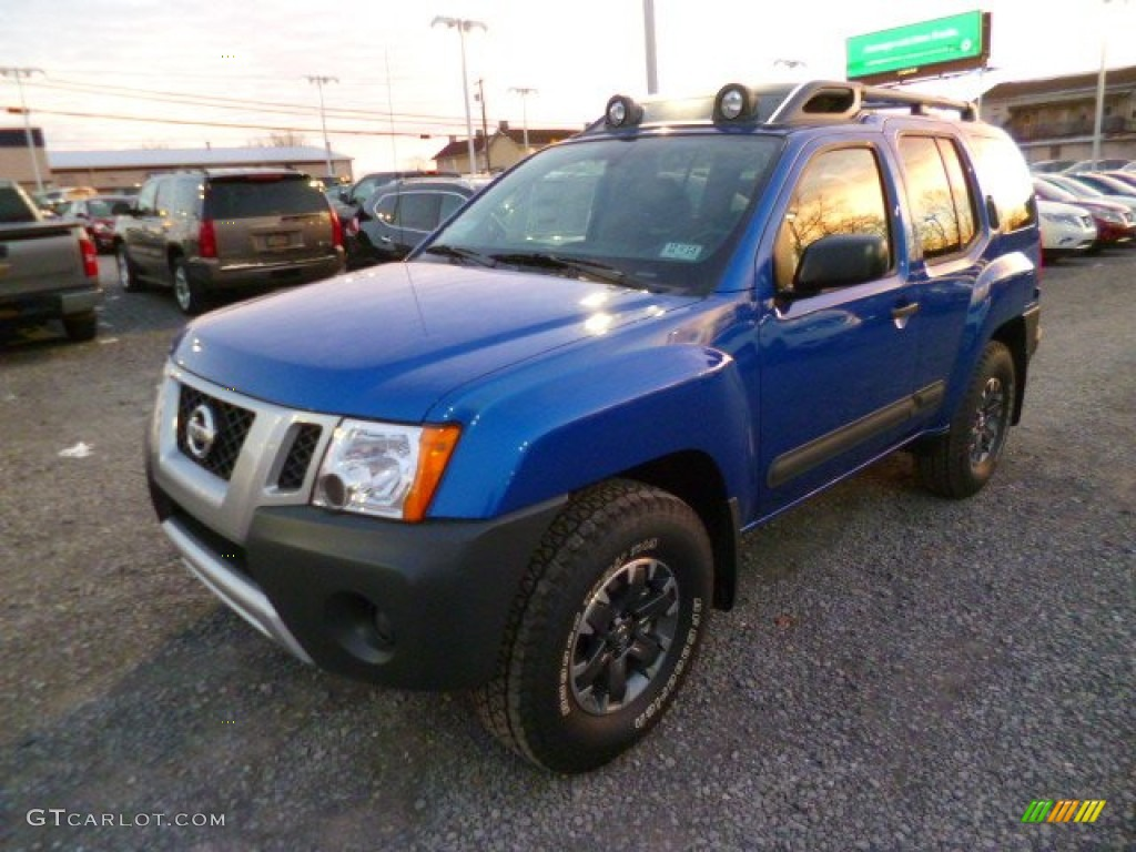 metallic blue 2014 nissan xterra pro 4x 4x4 exterior photo 88848772. Black Bedroom Furniture Sets. Home Design Ideas