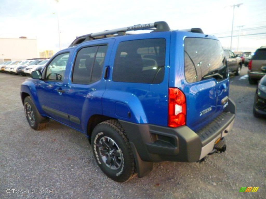metallic blue 2014 nissan xterra pro 4x 4x4 exterior photo 88848796. Black Bedroom Furniture Sets. Home Design Ideas