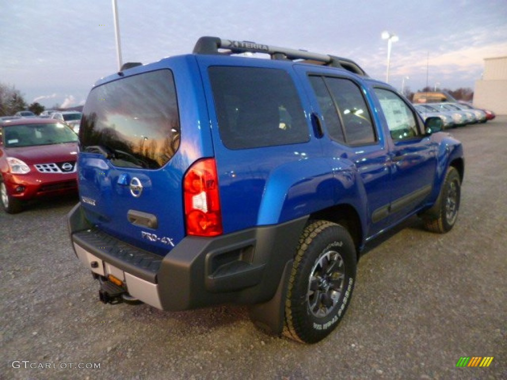 metallic blue 2014 nissan xterra pro 4x 4x4 exterior photo 88848818. Black Bedroom Furniture Sets. Home Design Ideas