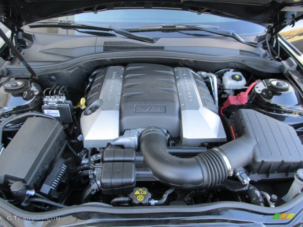 2013 Chevrolet Camaro Ss Rs Coupe Engine Photos