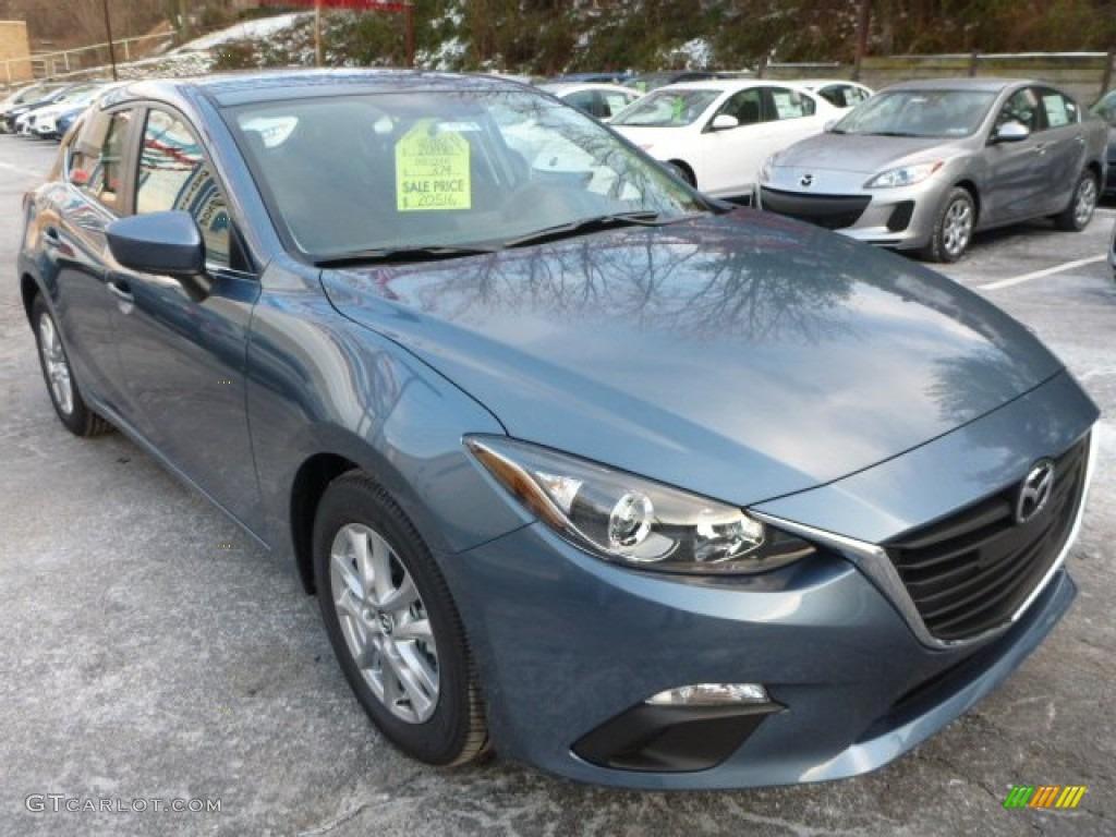 Mazda3 blue reflex mica