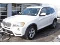 Alpine White 2011 BMW X3 xDrive 28i