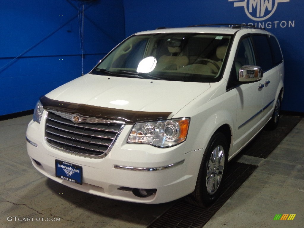 2008 stone white chrysler town country limited 88884922 for Stone s town country motors
