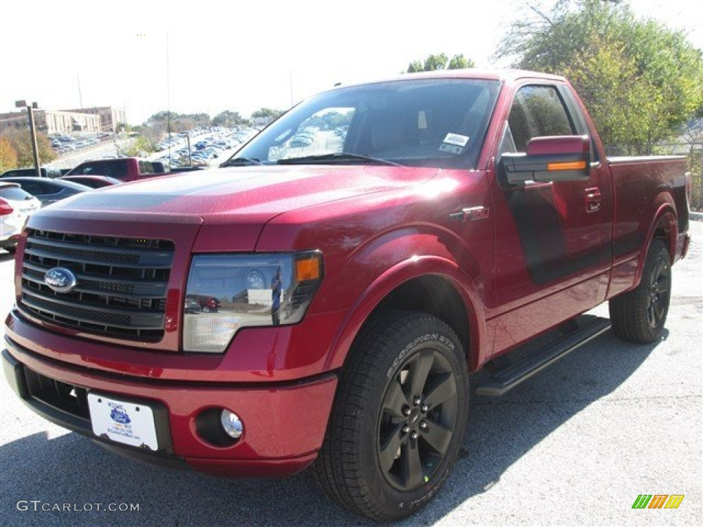 Ruby red ford f150 ford f150 fx2 tremor regular cab