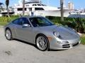 Arctic Silver Metallic 2005 Porsche 911 Carrera Coupe