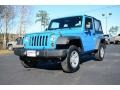 2012 Cosmos Blue Jeep Wrangler Sport 4x4  photo #1