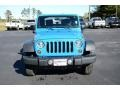 2012 Cosmos Blue Jeep Wrangler Sport 4x4  photo #2