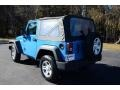 2012 Cosmos Blue Jeep Wrangler Sport 4x4  photo #7