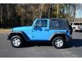 2012 Cosmos Blue Jeep Wrangler Sport 4x4  photo #8