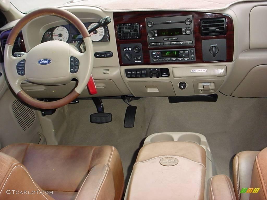 2006 Dark Copper Metallic Ford F350 Super Duty King Ranch Crew Cab 4x4 Dually 8843344 Photo 13