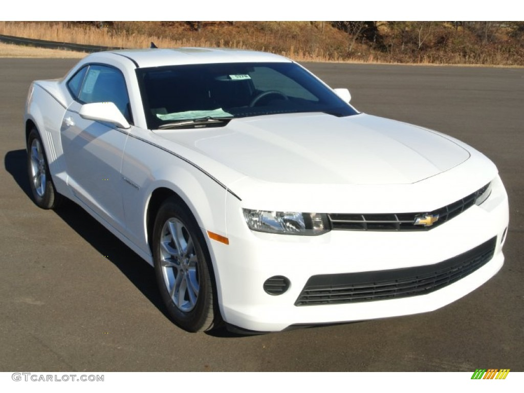 2014 summit white chevrolet camaro ls coupe 88920706. Black Bedroom Furniture Sets. Home Design Ideas