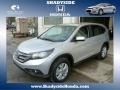 2014 Alabaster Silver Metallic Honda CR-V EX AWD  photo #1