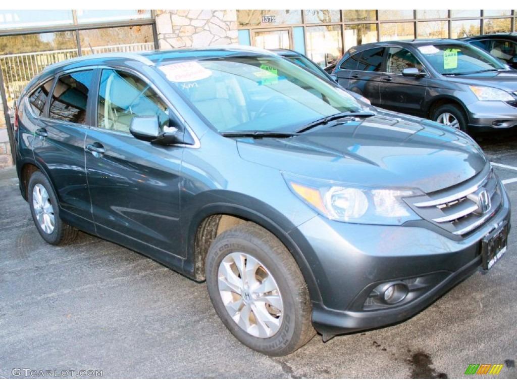 Polished Metal Metallic 2012 Honda CR-V EX-L 4WD Exterior Photo #88946852