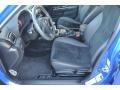 STi Black Alcantara/Carbon Black Front Seat Photo for 2012 Subaru Impreza #88949086