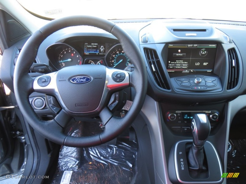 2014 Escape SE 1.6L EcoBoost - Sterling Gray / Charcoal Black photo #32