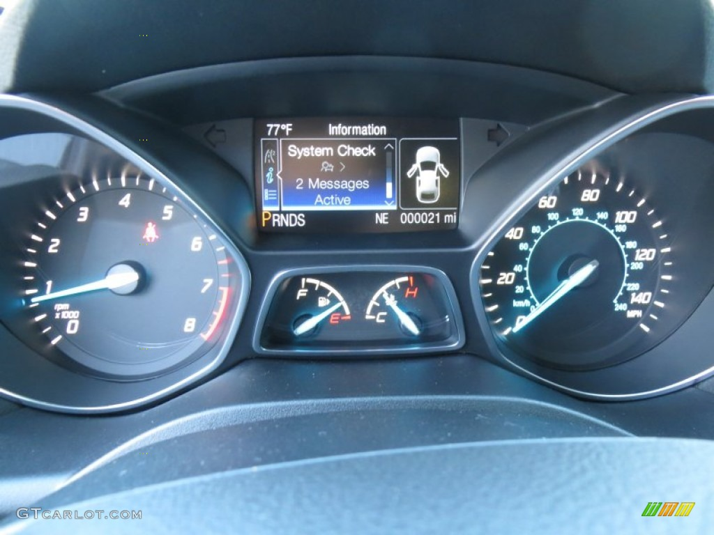 2014 Escape SE 1.6L EcoBoost - Sterling Gray / Charcoal Black photo #37