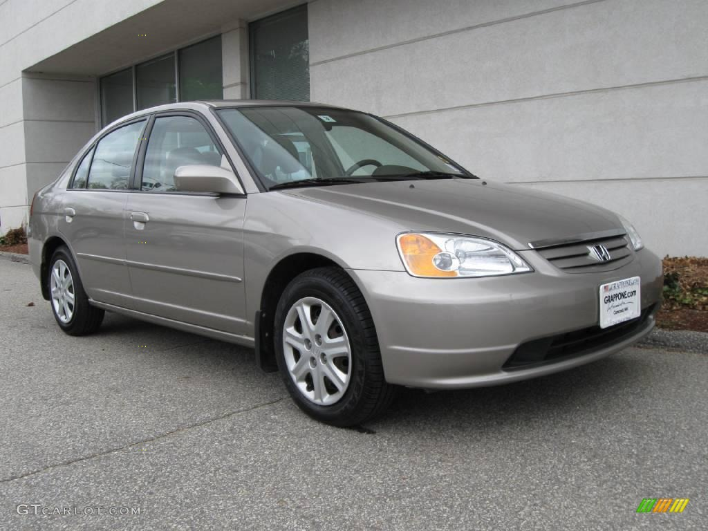 Shoreline Mist Metallic Honda Civic. Honda Civic EX Sedan
