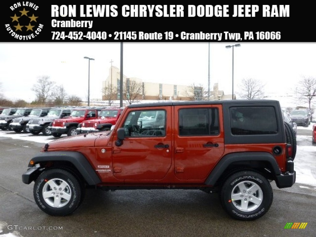 2014 jeep wrangler unlimited sport s 4x4 copperhead pearl color. Cars Review. Best American Auto & Cars Review