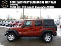 2014 Copperhead Pearl Jeep Wrangler Unlimited Sport S 4x4 #88960065