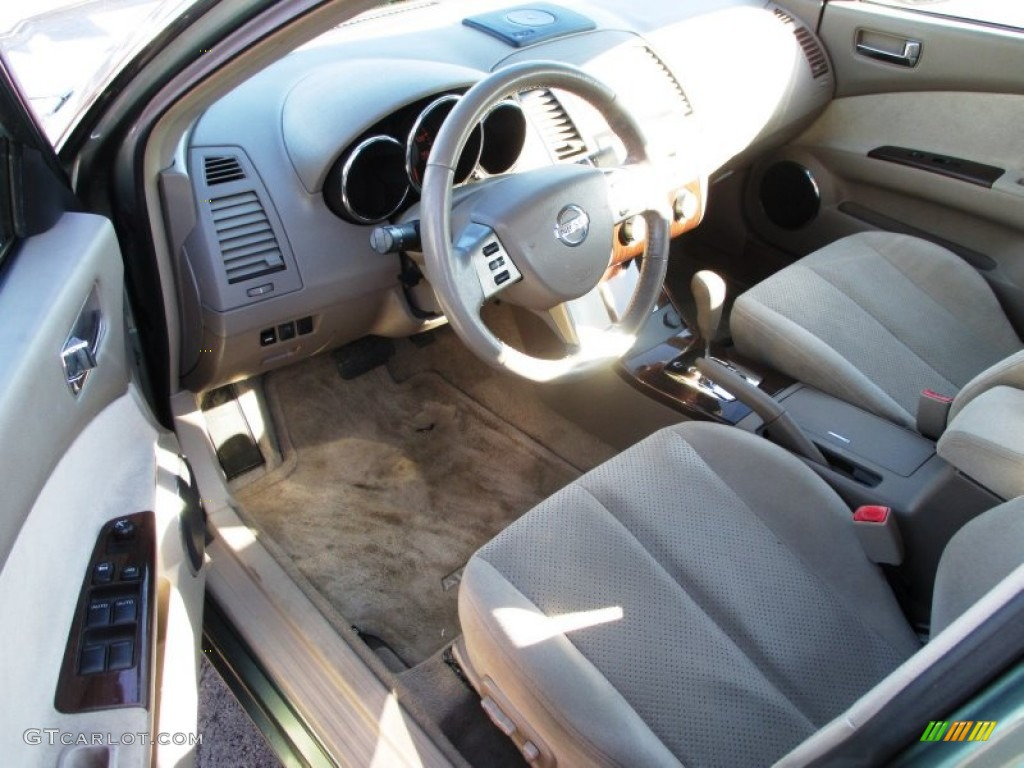 2005 Nissan Altima 2 5 S Interior Color Photos