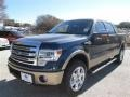 Blue Jeans 2014 Ford F150 King Ranch SuperCrew 4x4