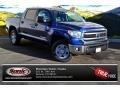 2014 Blue Ribbon Metallic Toyota Tundra SR5 Crewmax 4x4  photo #1