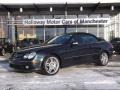 Black Opal Metallic - CLK 55 AMG Cabriolet Photo No. 1