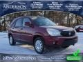 Cardinal Red Metallic 2006 Buick Rendezvous CXL
