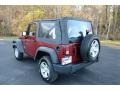 2012 Deep Cherry Red Crystal Pearl Jeep Wrangler Sport 4x4  photo #7