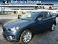 2014 Stormy Blue Mica Mazda CX-5 Grand Touring AWD #89007179