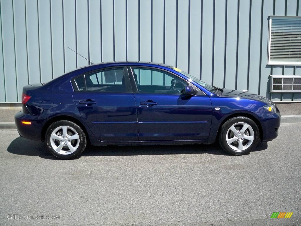 2006 strato blue mica mazda mazda3 i sedan 8843894 photo. Black Bedroom Furniture Sets. Home Design Ideas