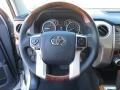 2014 Toyota Tundra 1794 Edition Premium Brown Interior Steering Wheel Photo