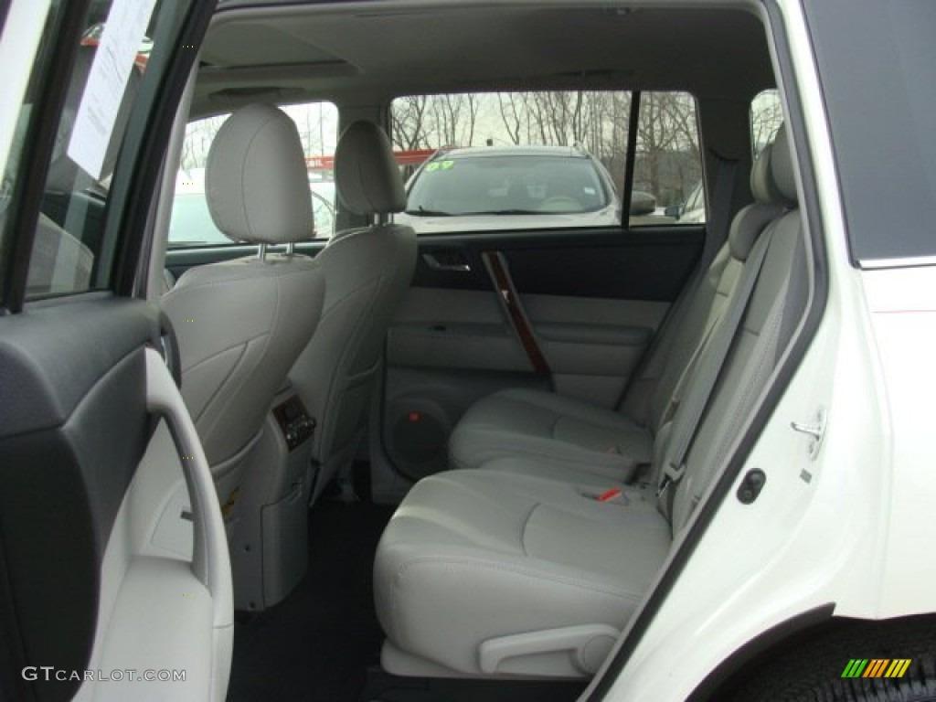 2013 Toyota Highlander Limited 4wd Interior Color Photos