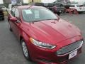 2013 Ruby Red Metallic Ford Fusion S #89051787