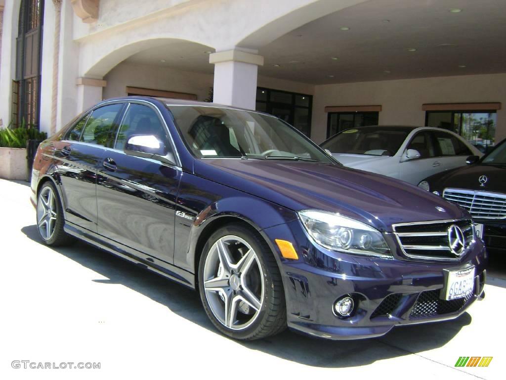 2009 capri blue metallic mercedes benz c 63 amg 8846152 for Mercedes benz color