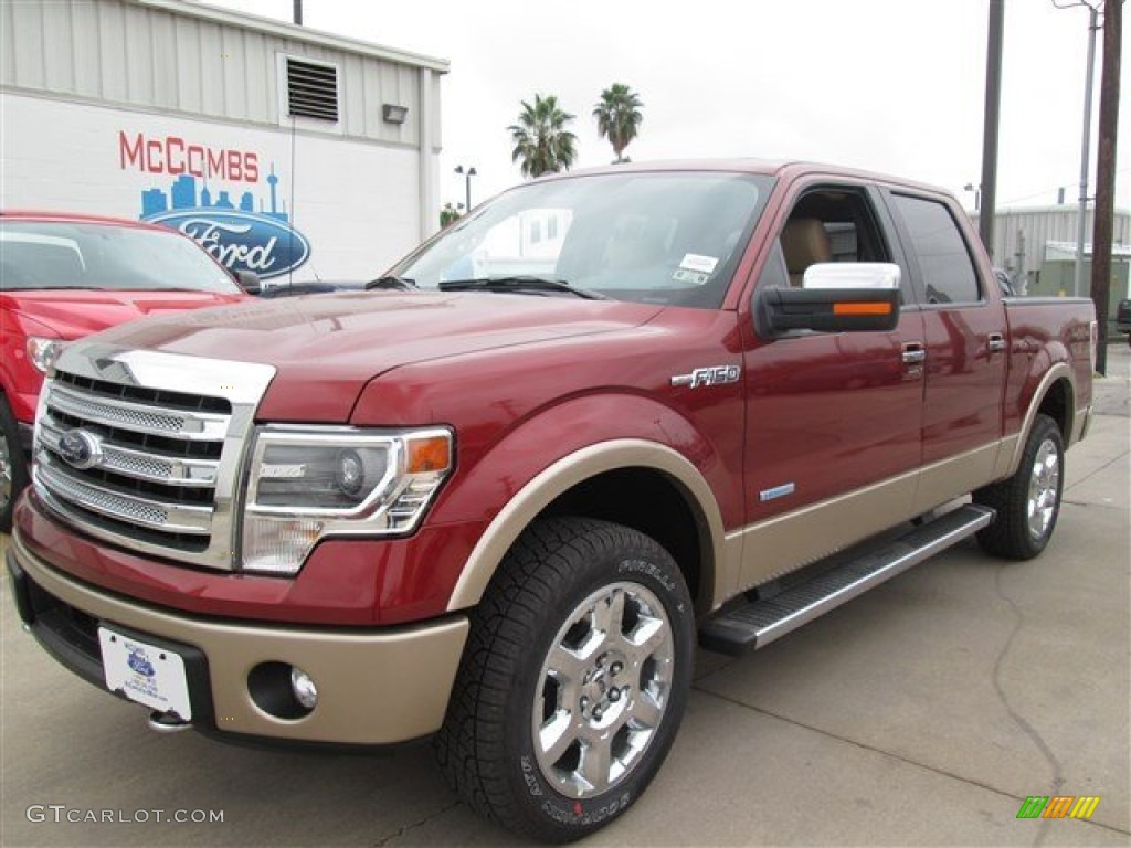 2014 sunset ford f150 lariat supercrew 4x4 89051775 car color galleries. Black Bedroom Furniture Sets. Home Design Ideas