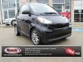 Deep Black 2008 Smart fortwo passion cabriolet