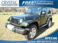 2010 Natural Green Pearl Jeep Wrangler Sahara 4x4  photo #1